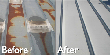 Lovely ... Limits Tear Off And Waste Generation. Metal Roof Restoration